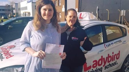 Iva Kapular Passed Driving Test Dublin
