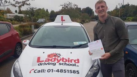 Karl Jebb Passed Driving Test Dublin
