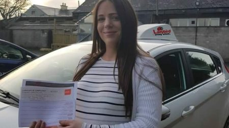 Rachek Nugent Passed Driving Test Dublin