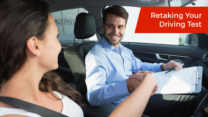 Retaking Your Driving Test Ireland